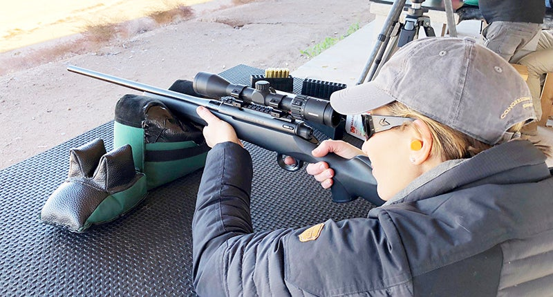 The new M18 rifle from Mauser is available in a variety of calibers at an extremely affordable price.