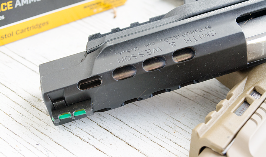 Smith & Wesson Ported M&P Pistols: Gun Review