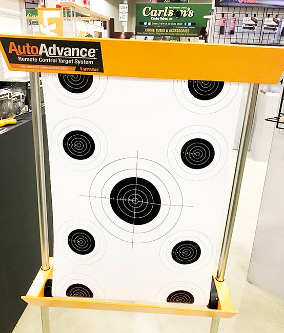 The Lyman AutoAdvance Target System lets you spend more time shooting and less time waiting to change your targets.
