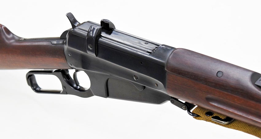 Though it was the strongest lever action Browning ever devised, it is relatively weak by modern standards.