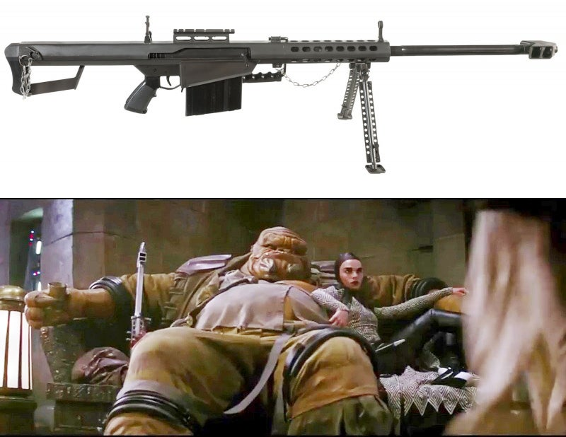 The 242 Hunting Rifle is based on the Barrett M82A1.