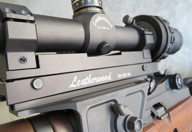 The Sadlak, Leatherwood and M1A combined are a modern interpretation of a Vietnam Era XM21 sniper rifle.