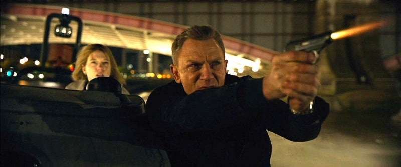Craig again carries his Walther PPK in his fourth Bond film.