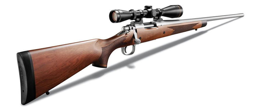 An example of a Remington 700, one of the mostly widely owned bolt-action rifles.