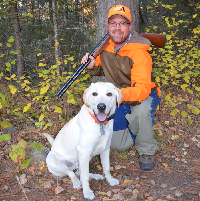 J.J. Reich, communications manager for Stevens, carried a Stevens 555 in 12 gauge with the author on a grouse hunt in Minnesota.