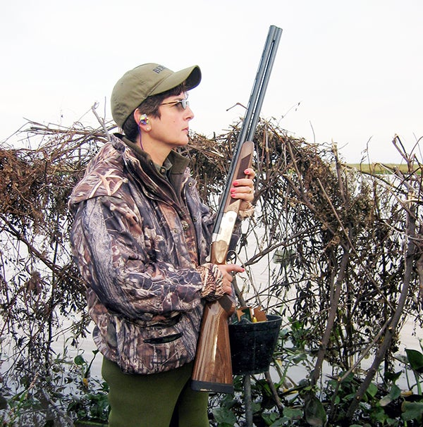 Although over-unders aren't seen often in the duckblind they are extremely reliable under waterfowling conditions.