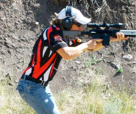 tracy barnes training rifles 3-gun competition