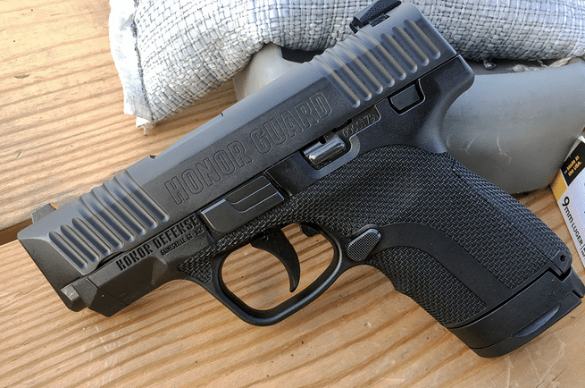There are more than 100 holster options for the Honor Guard concealed-carry pistol on the market.