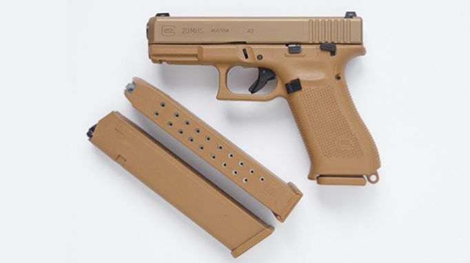 The Glock MHS is expected to soon be available to civilians.