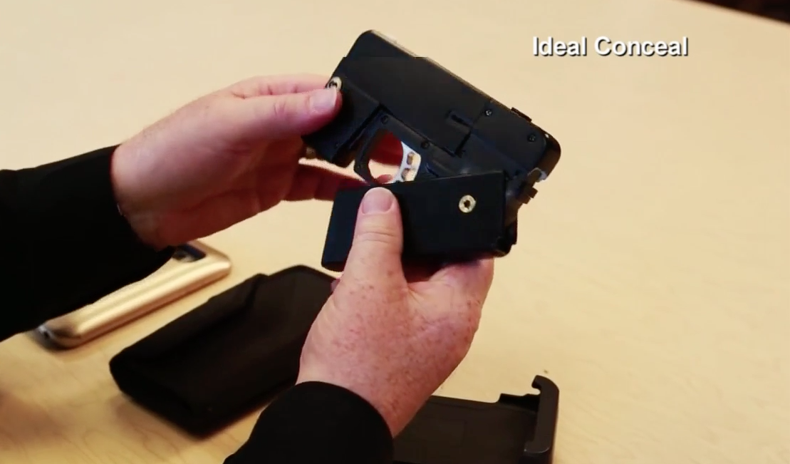 Gun That Looks Like Smartphone Could Be Here This Summer