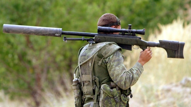 Canadian Sniper Breaks Record With 2.2-Mile Shot