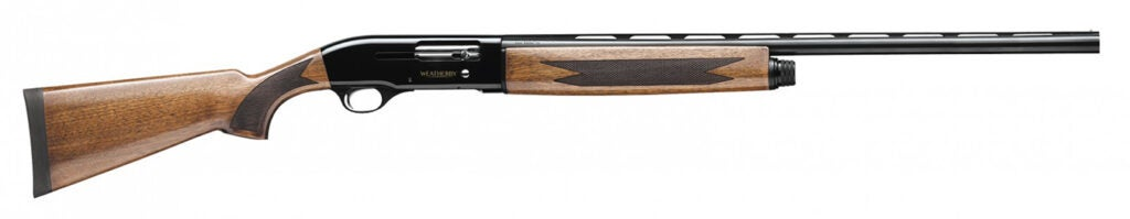 The Weatherby SA-08.