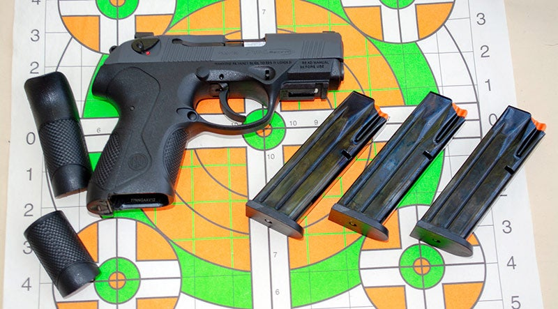 beretta px4 compact grip inserts and magazines