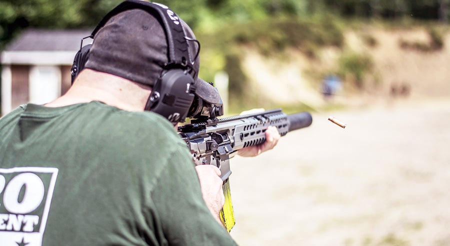Those in the carbine program spend early time getting familiar with how the firearm handles.