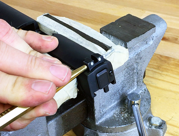 How To Change Handgun Sights With Basic Tools