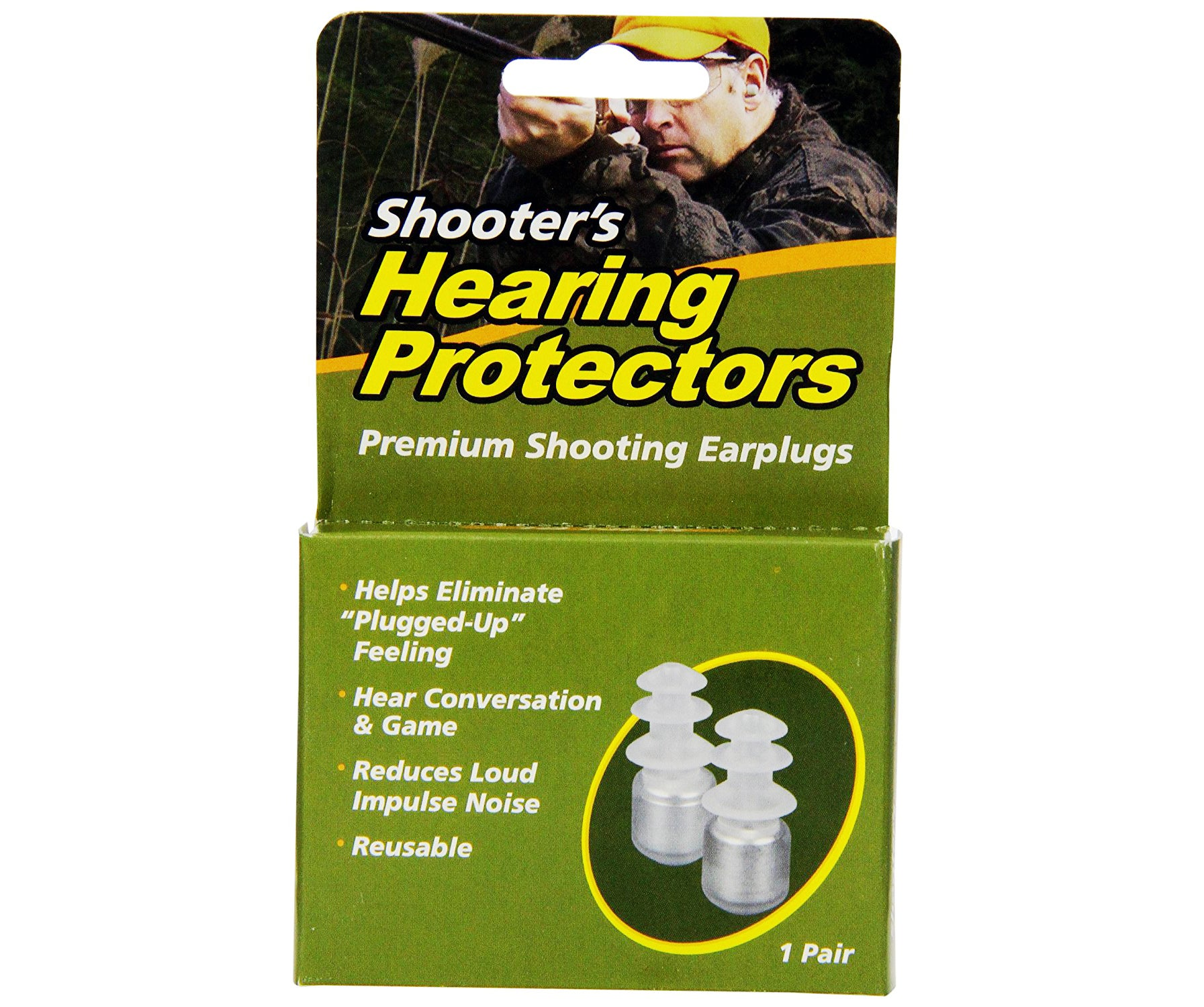 Acu Life Shooter's Ear Plugs from Health Enterprises