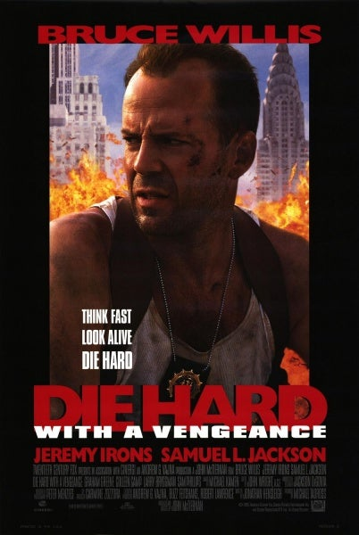 The post for *Die Hard With a Vengeance*.