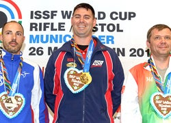 U.S. Shooter Wins Gold at World Cup Event in Munich