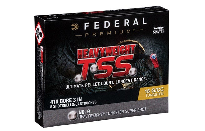 These new Heavyweight TSS loads from Federal make your .410 into a viable turkey gun.