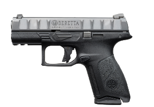 The mid-sized Beretta APX Centurion will be available with a 15+1 (9mm) or 13+1 (.40S&W) capacity with a flush fit magazine. It will also be able to accept the full-size APX magazines.