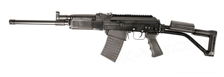 The Molot VEPR 12-01 shotgun.