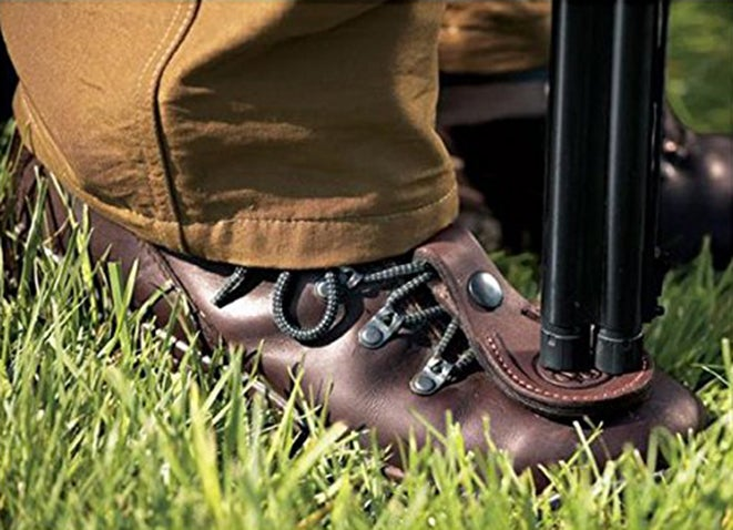 Resting Your Gun on Your Foot?