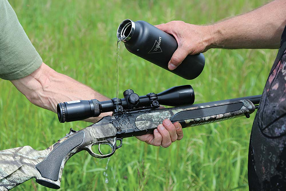 muzzle loader water resistant