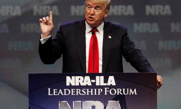 Trump First President to Speak at NRA Event Since Reagan