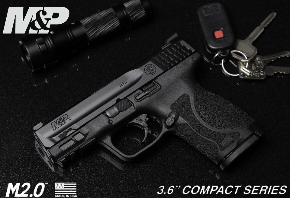 The 9mm version of the new M&P M2.0 Compact 3.6