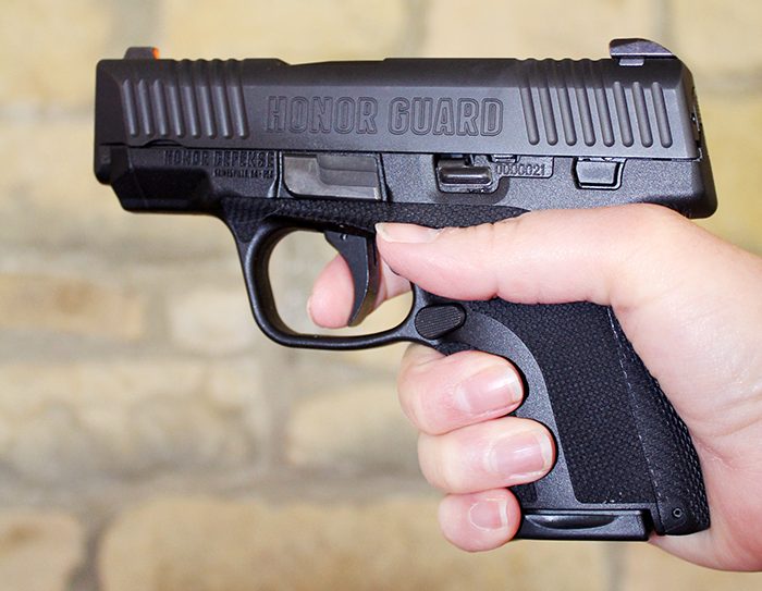 Something as simple as working on your trigger pull can greatly impact your accuracy.