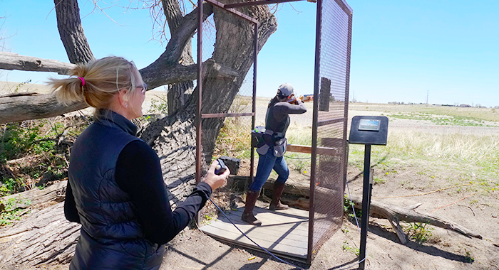 Spending time with other women on the clays range is a lot of fun, and the friendly coaching and recommendations help everyone become better shooters.
