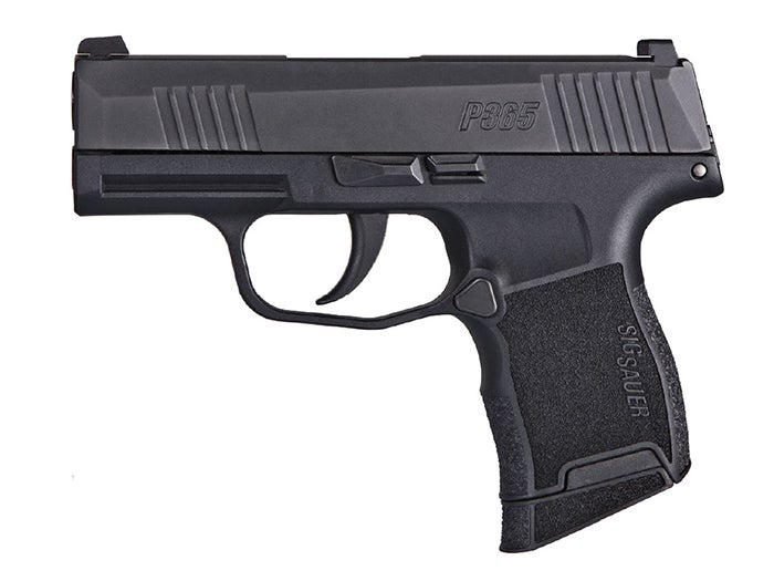 Pistol Review: The SIG Sauer P365