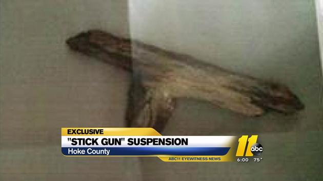 Girl, 5, Suspended For Playing with Stick