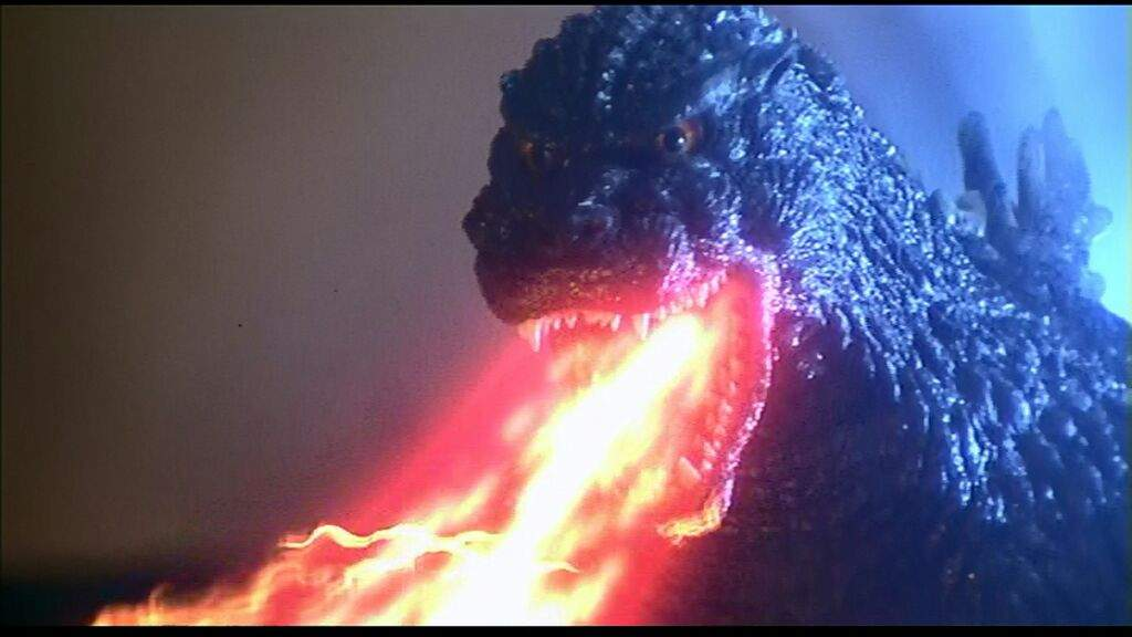The fact that Godzilla breathes fire makes him a bit more difficult to deal with.