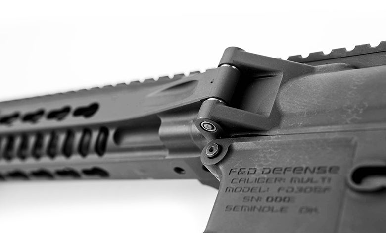 The hinge is robust and has been tested by F&D beyond the expected lifetime of the rifle to make sure it never loosens or develops any play.