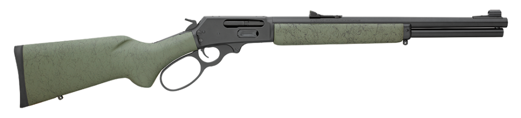 The Marlin 1895 GSBL is a modern lever-action rifle chambered for the hefty .45-70 Govt. cartridge.