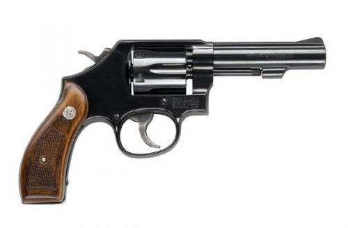 The S&W Model 10 in .38 Special.