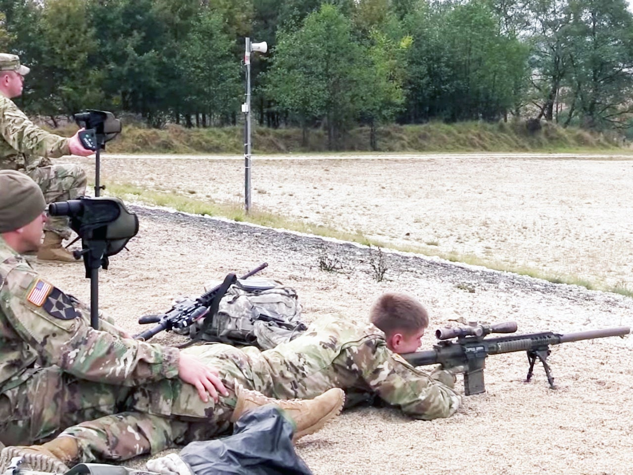 Sniper Teams From Around The Globe Square Off