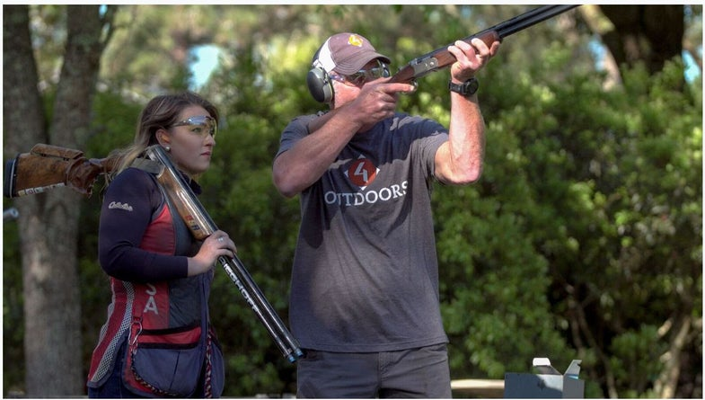 Favre Takes Position As Shooting Team Captain