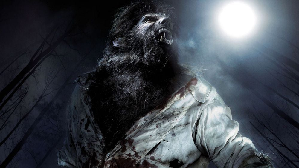 Benecio Del Toro as the monster in *The Wolfman* (2010), with makeup also designed by Rick Baker.