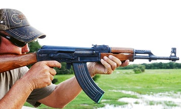 Shooting an AK-47 in Full Auto
