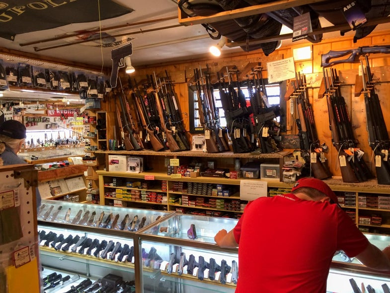 How to Survive Your First Gun Store Visit