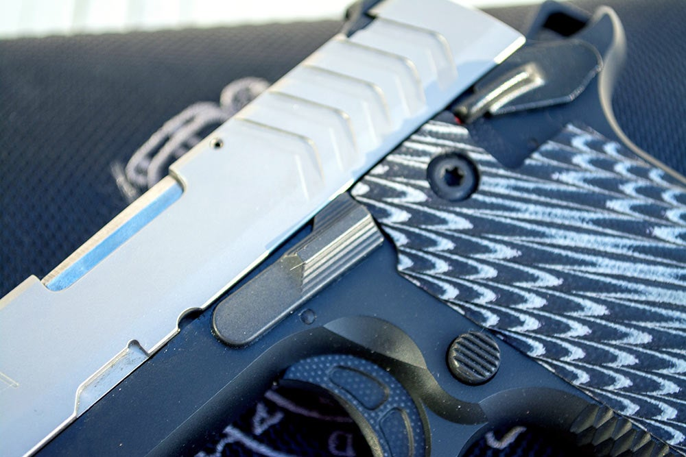 springfield armory 911 slide release