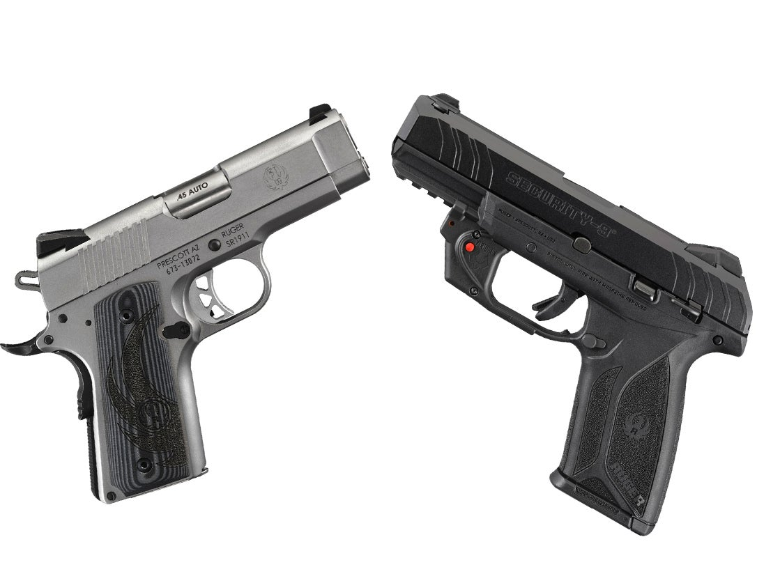 2 New Concealed Carry Handguns from Ruger