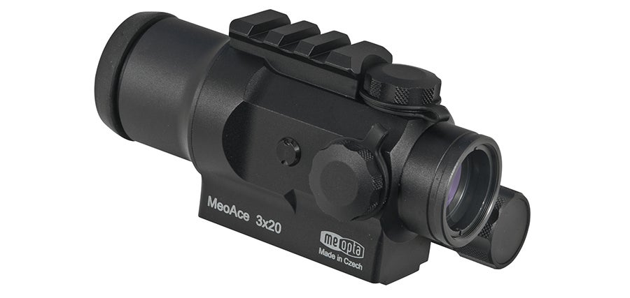 The Meopta MeoAce 3x20 Tactical Sight was new at SHOT Show 2018.