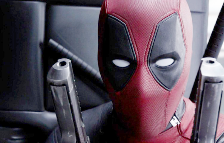 Another shot of Deadpool with his Deagle.