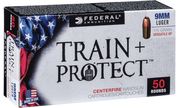 Federal Releases Train + Protect Ammo Line