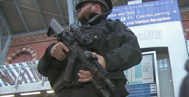 Poll: Most Brits Want Police To Be Armed