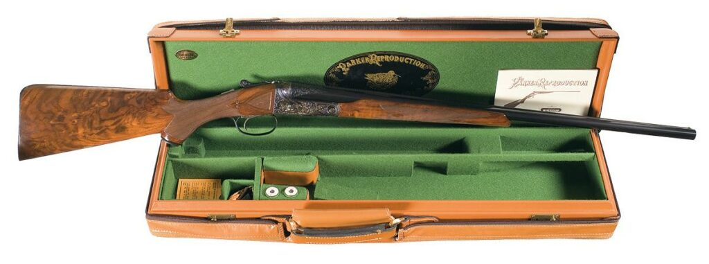A Winchester Parker Reproduction BHE.