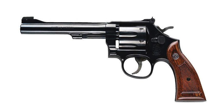 smith and wesson model 17 handgun